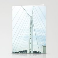 new bay bridge  Stationery Cards