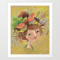 Forest Glories Art Print