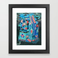 Snake House Framed Art Print