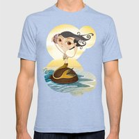 Sirena Mens Fitted Tee Tri-Blue SMALL