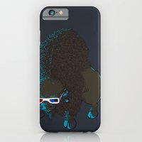 iPhone & iPod Case featuring Bison by Vó Maria