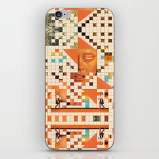 Orange poem iPhone & iPod Skin