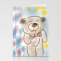 Bedtime Bear Stationery Cards