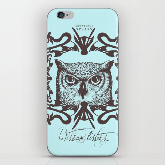 Wisdom Listens iPhone & iPod Skin