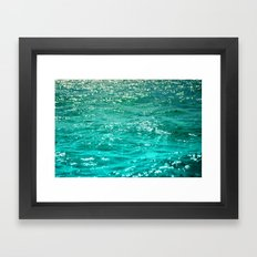 SIMPLY SEA Framed Art Print