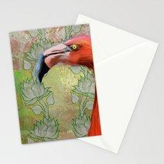 Red big bird Stationery Cards