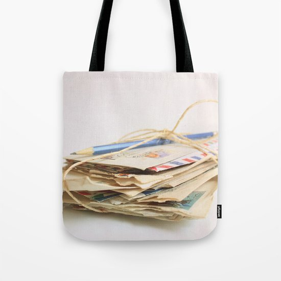 All The Letters That I Wrote To You IV Tote Bag