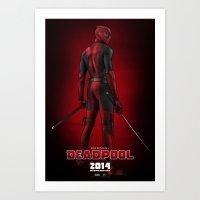Deadpool (Poster) Art Print