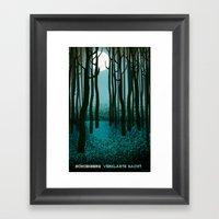 Transfigured Night - Ver… Framed Art Print
