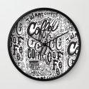 COFFEE COFFEE COFFEE! Wall Clock