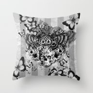 Throw Pillow featuring Lost And Found, Floral O… by Kristy Patterson Des…