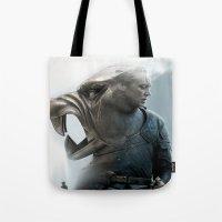 The Hound's Fall Tote Bag