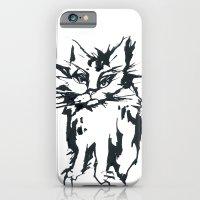 a threatening cat iPhone 6 Slim Case