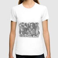 Mysterious Village Womens Fitted Tee White SMALL