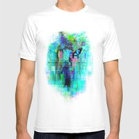 Overflow Mens Fitted Tee White SMALL