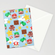 Super Mario Stationery Cards