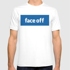 2010 - Face Off White SMALL Mens Fitted Tee
