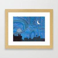 Brooklyn Sky Framed Art Print