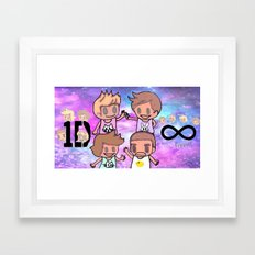 1D-1 Framed Art Print
