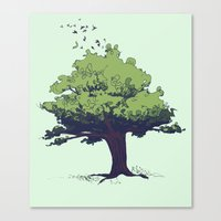 Arbor Vitae - Tree of Life Canvas Print