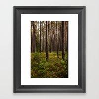 Glade Framed Art Print
