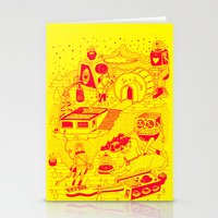 EL TANQUE CARCEDO Stationery Cards