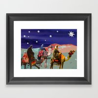 The Three Kings  Framed Art Print