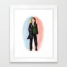 2 OLIVIAS DUNHAM (FRINGE) Framed Art Print