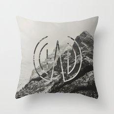 Logo Mount Throw Pillow