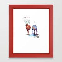 RS Pottery Framed Art Print