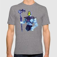 Polygon Heroes - Skeleto… Mens Fitted Tee Tri-Grey SMALL