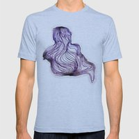 COLOIDE Mens Fitted Tee Athletic Blue SMALL