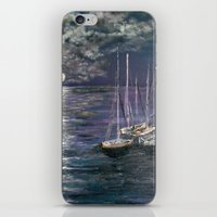 By the Light of the Silvery Moon iPhone & iPod Skin