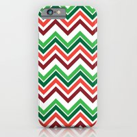 Xmas Chevron iPhone 6 Slim Case