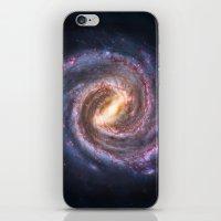 Galaxy Spin iPhone & iPod Skin