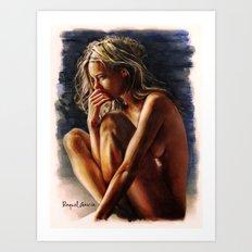 Femme/5 Art Print