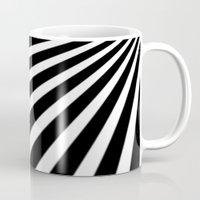 Black And White Stripes Mug