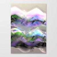 Ocean-Race  no31 Canvas Print