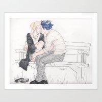 Comforting Presence Art Print