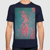 Tree Mens Fitted Tee Navy SMALL