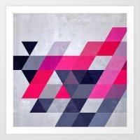 Glww Xryma Art Print
