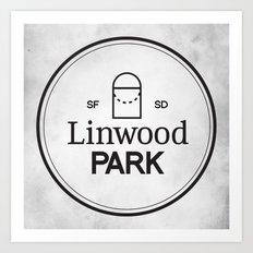 Linwood Park Art Print