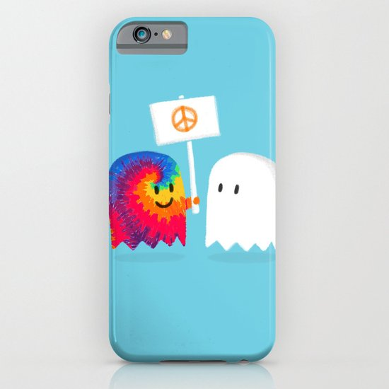 Hippie ghost iPhone & iPod Case
