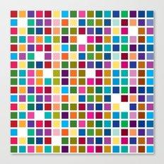 Mondrian is back! Canvas Print