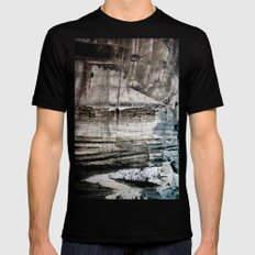 A painterly thing... Mens Fitted Tee Black SMALL
