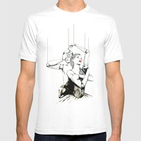 Embrace Mens Fitted Tee White SMALL