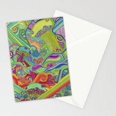 Sleepless Night Stationery Cards