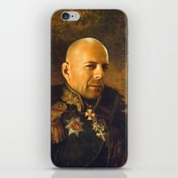 Bruce Willis - Replacefa… iPhone & iPod Skin