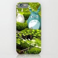 iPhone & iPod Case featuring My Neighbor Totoro by Erik Krenz