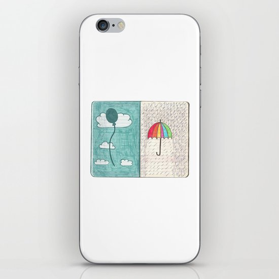 Always trust the weather iPhone & iPod Skin